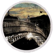 Bridge IIi Round Beach Towel