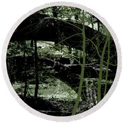 Bridge Vi Round Beach Towel
