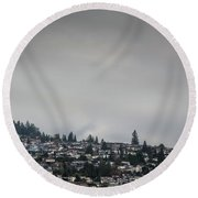 Burnaby Hill Round Beach Towel