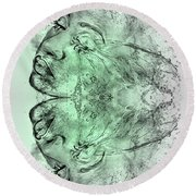 Butterfly Effect 03 Round Beach Towel