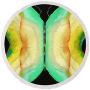 Butterfly - Lepidoptera Round Beach Towel