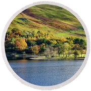 Buttermere Colours Round Beach Towel