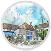 Cadgwith 01 Round Beach Towel