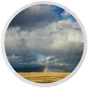 Caldera Rainbow Round Beach Towel