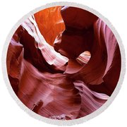 Canyon Colors Round Beach Towel