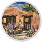 Canyon Road Casa Round Beach Towel