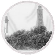 Cape Henry Round Beach Towel