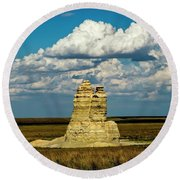 Castle Rock Round Beach Towel