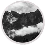 Cathedral Rocks Round Beach Towel