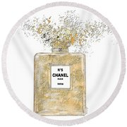 Chanel Explosion Round Beach Towel