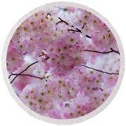Cherry Blossoms 8625 Round Beach Towel