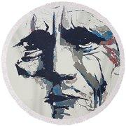Chet Baker - Abstract  Round Beach Towel