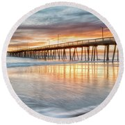 Choiceless Beauty Round Beach Towel