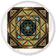 Circumplexical N0 3640 Round Beach Towel