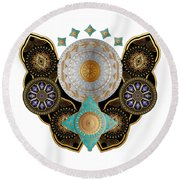 Circumplexical N0 3662 Round Beach Towel