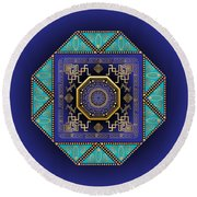 Circumplexical No 3555 Round Beach Towel