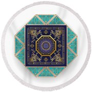 Circumplexical No 3556 Round Beach Towel