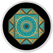 Circumplexical No 3557 Round Beach Towel