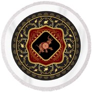 Circumplexical No 3665 Round Beach Towel