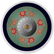 Circumplexical No 3667 Round Beach Towel