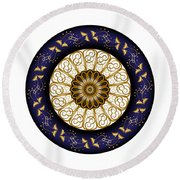 Circumplexical No 3688 Round Beach Towel
