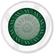 Circumplexical No 3690 Round Beach Towel