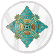 Circumplexical No 3695 Round Beach Towel