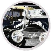 Classic Cars 9 Round Beach Towel