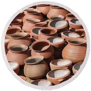 Clay Pots  For Sale In Chatikona  Round Beach Towel