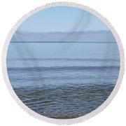 Clear Lake Superior Round Beach Towel