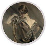 Cleo De Merode, 1901 Round Beach Towel