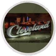 Cleveland Proud  Round Beach Towel