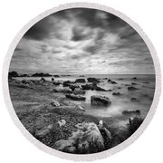 Coastal Light II Round Beach Towel