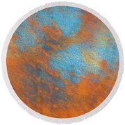 Colorful Wall - Grytviken, South Georgia Round Beach Towel
