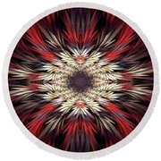 Colossians Round Beach Towel