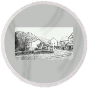 Coniston High Street Round Beach Towel