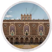 Convention Hall Round Beach Towel
