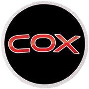 Cox Round Beach Towel