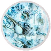 Creative Seas Round Beach Towel