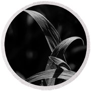 Crossed In The Light Round Beach Towel