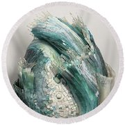 Crysalis IIi Round Beach Towel