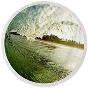 Curtain Round Beach Towel