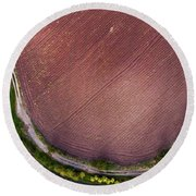 Round Beach Towel featuring the photograph Curved Pathway by Okan YILMAZ