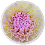 Dahlia Ryecroft Brenda T Flower Round Beach Towel