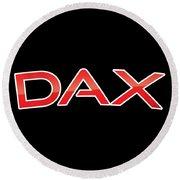 Dax Round Beach Towel