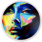 Desires And Illusions Round Beach Towel