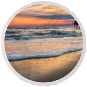 Detailed Round Beach Towel