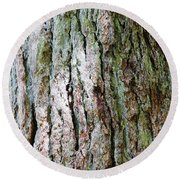 Details, Old Growth Western Redcedars Round Beach Towel