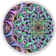 Dimension Object Remix Two Round Beach Towel