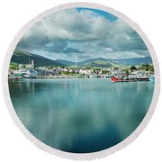Dingle Delight Round Beach Towel